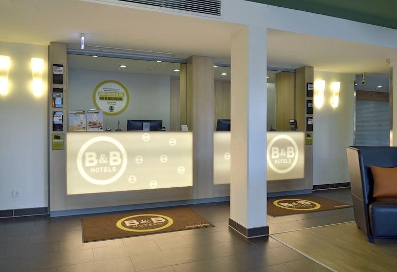 B&B Hotel Augsburg-Süd, אאוגסבורג, קבלה