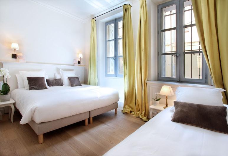 Les Quatre Dauphins, Aix-en-Provence, Trojlôžková izba, Hosťovská izba