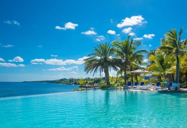 Anelia Resort & Spa, Flic-en-Flac, Ääretön uima-allas