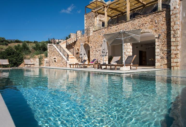 Lameriana Luxury Village, Mylopotamos, Outdoor Pool