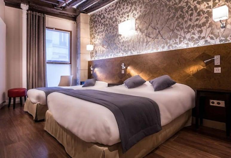 桑利斯酒店, 巴黎, 高級三人房, 客房