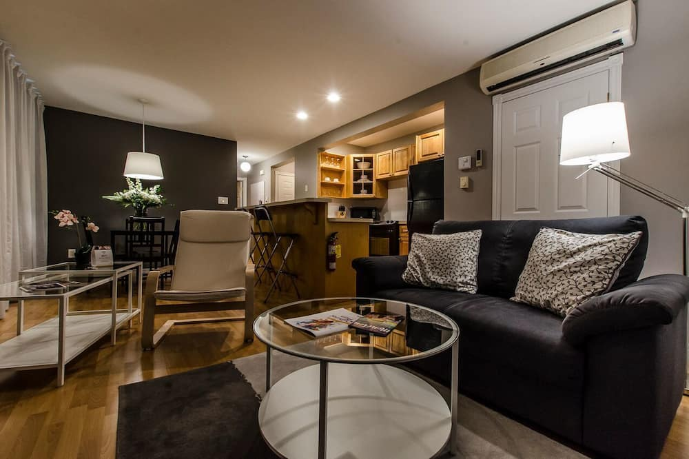 Loft Premium, 2 łóżka queen, kuchnia - Powierzchnia mieszkalna