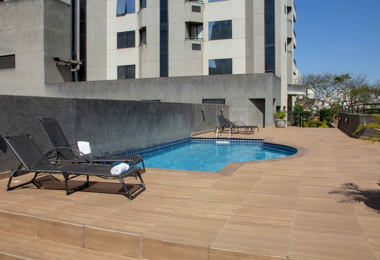 Twin Towers Flat, Сан-Бернардо-до-Кампо , Відкритий басейн