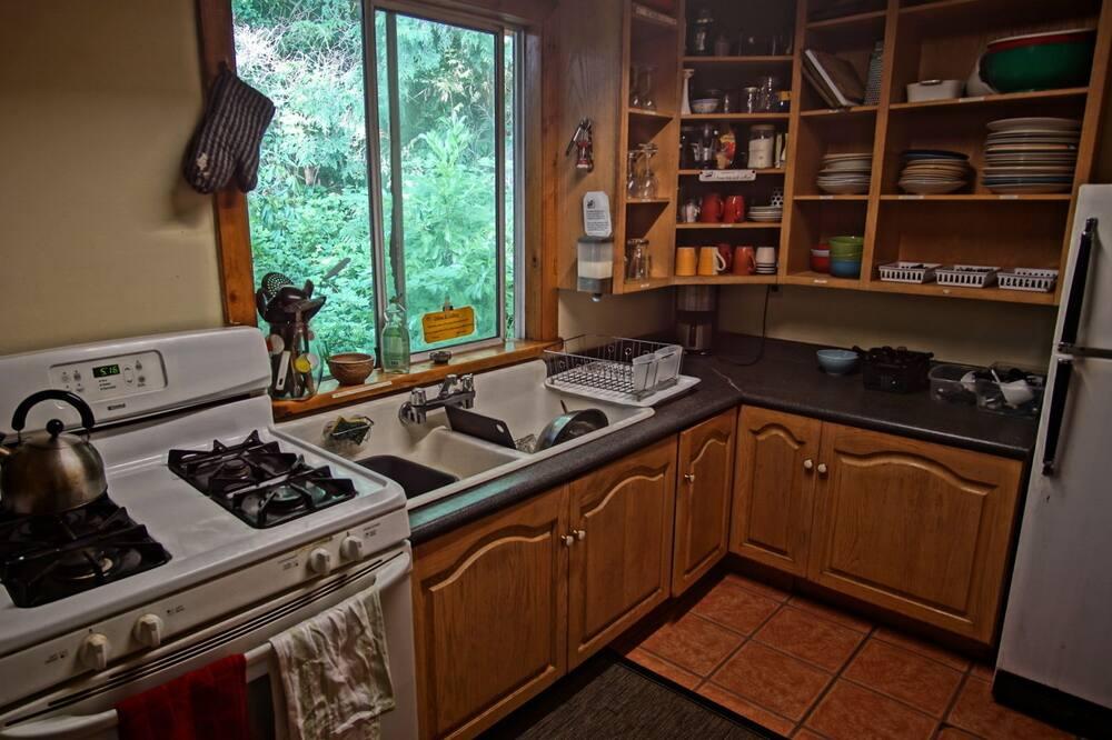 Μικρό Σπίτι, 1 Διπλό Κρεβάτι - Κοινόχρηστη κουζίνα
