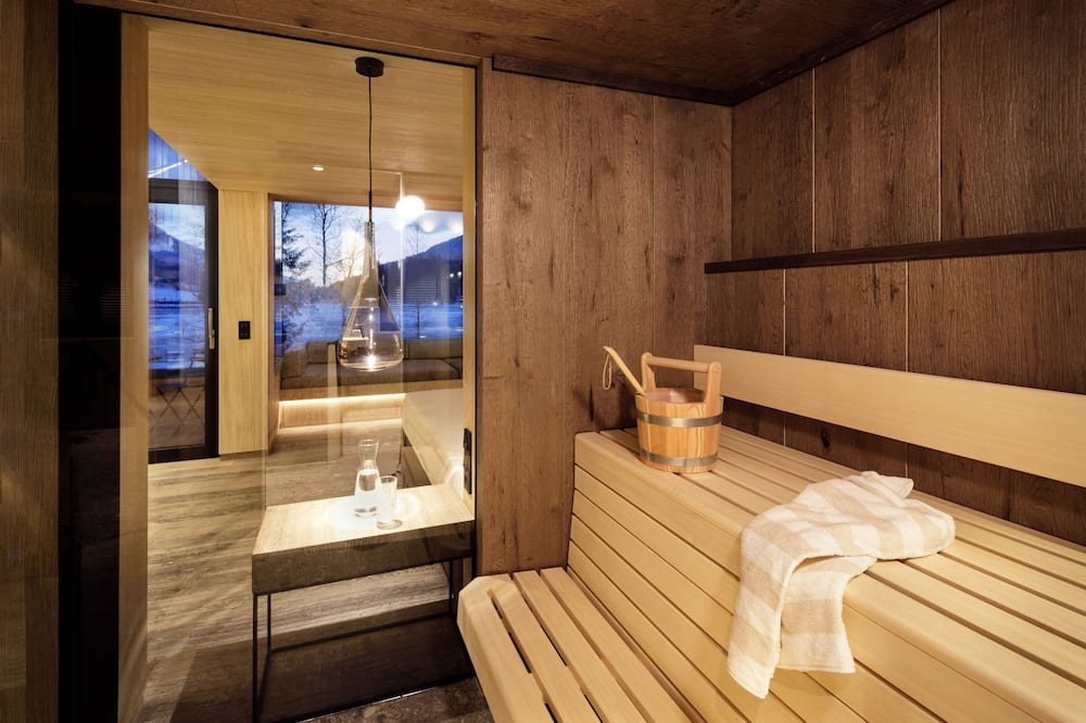 Penthouse Suite Deluxe - Badezimmer