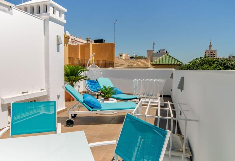 Santa Cruz Apartments, Málaga, Terasa / vidinis kiemas