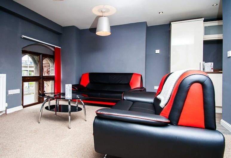 Joli Central Apartments, Glasgow, טרקלין