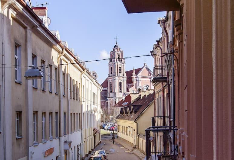 Real House, Vilnius, Tweepersoonskamer, Balkon, Balkon