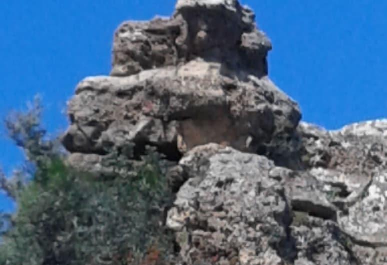 希卡拉里雅傳統石屋酒店, 基薩莫斯, 陽台