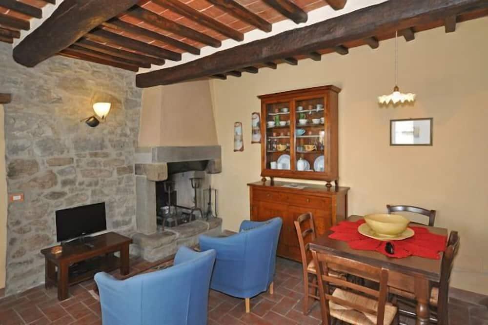 全景別墅, 3 間臥室, 私人泳池 (Calcinaio) - 客廳