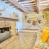 Panoramic Villa, 4 Bedrooms (Uccellaia) - Living Area