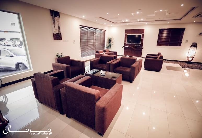 Merfal Hotel Apartments Al Taawan, Riyadh, Sæti í anddyri