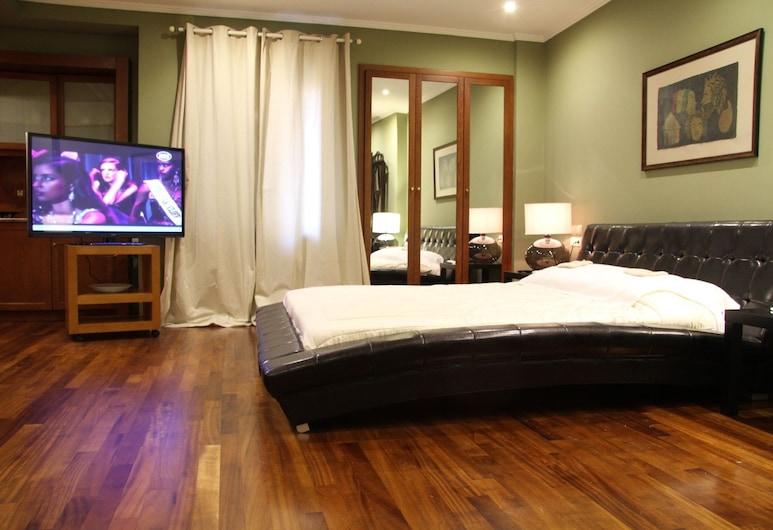 Andromeda Suites and Apartments, Athén, apartman, 1 hálószobával, Nappali rész
