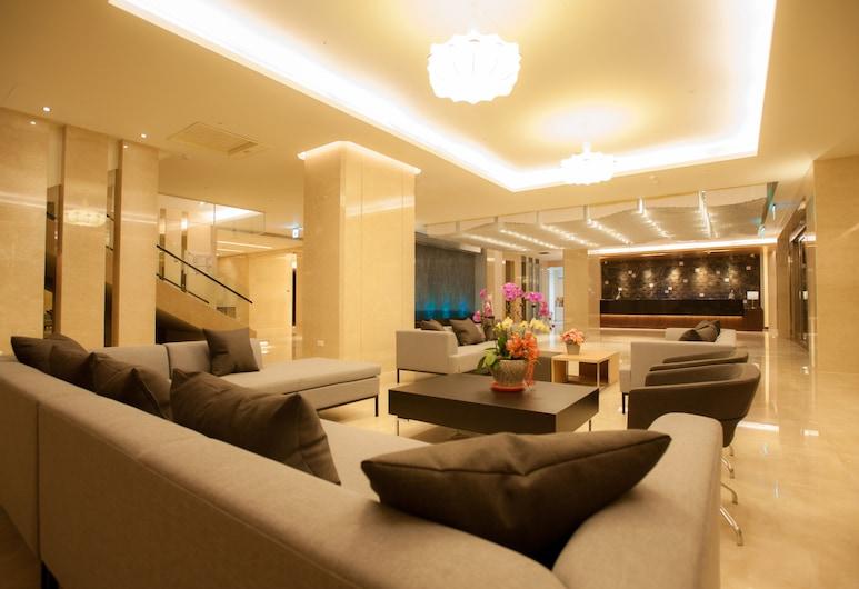 Best Hotel, Bandar Hualien, Tempat Duduk di Lobi