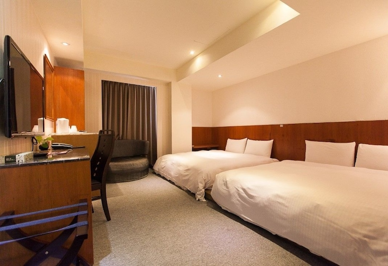 Hualien Mango Hotel, Bandar Hualien, Family Room, Bilik Tamu