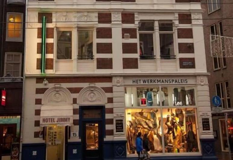 吉米酒店, 阿姆斯特丹, 酒店正面