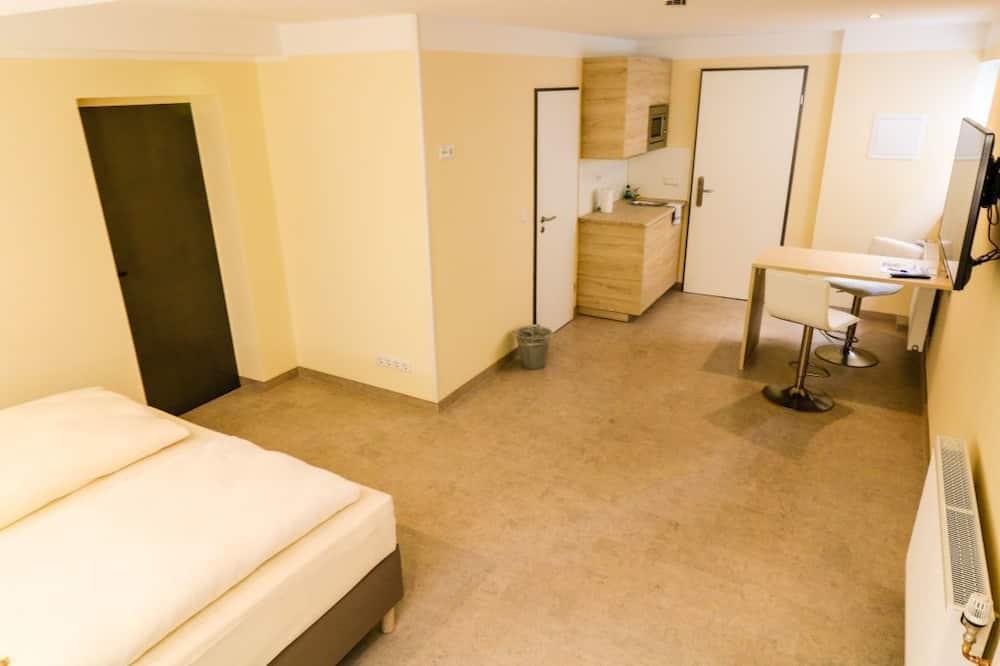 חדר קומפורט זוגי, מיטה זוגית - אזור מגורים