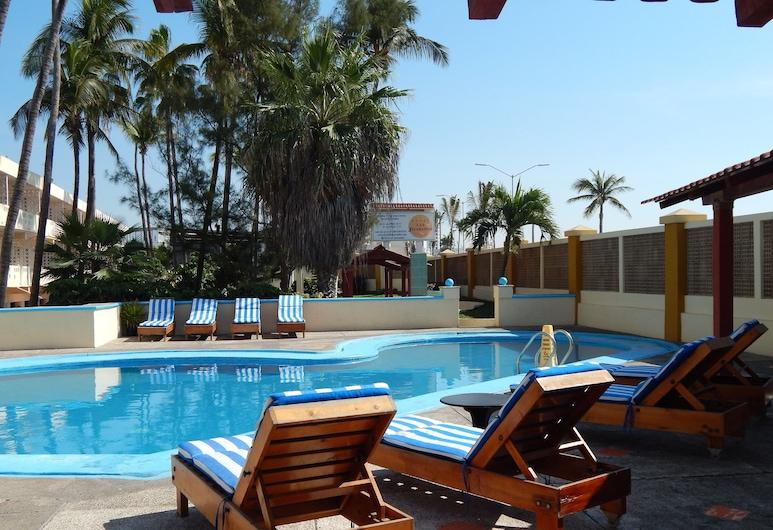 Hotel Las Jacarandas, Mazatlan, Pool