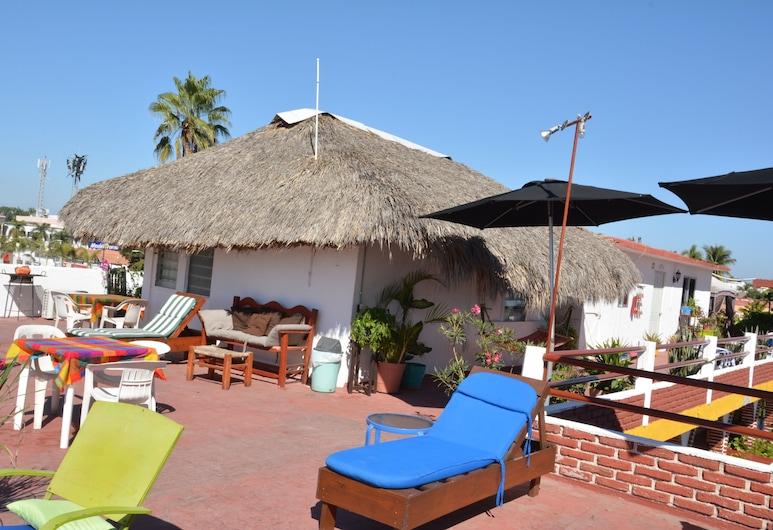 Mariana Beach Hotel, Mazatlán, Terrasse/patio