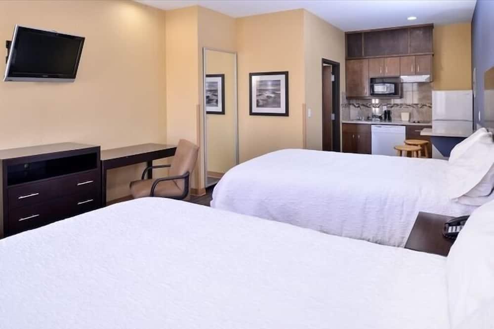 Standaard kamer, 1 kingsize bed - Woonkamer