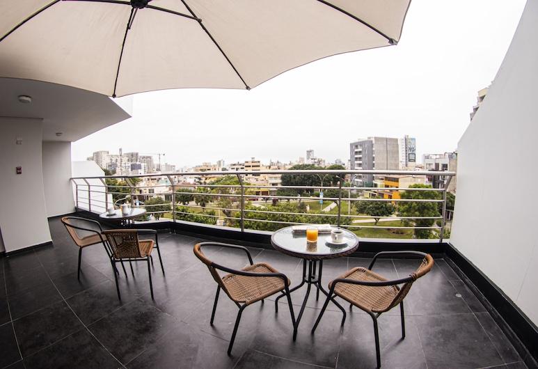 San Miguel Awanka Hotel, Lima, Coin séjour