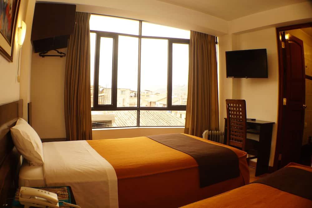 Δίκλινο Δωμάτιο (Double), 2 Μονά Κρεβάτια - Δωμάτιο επισκεπτών