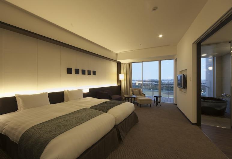 스파 & 호텔 마이하마 유라시아, 우라야스, 이그제큐티브 트윈룸 (Western Style Room with View Bath), 객실
