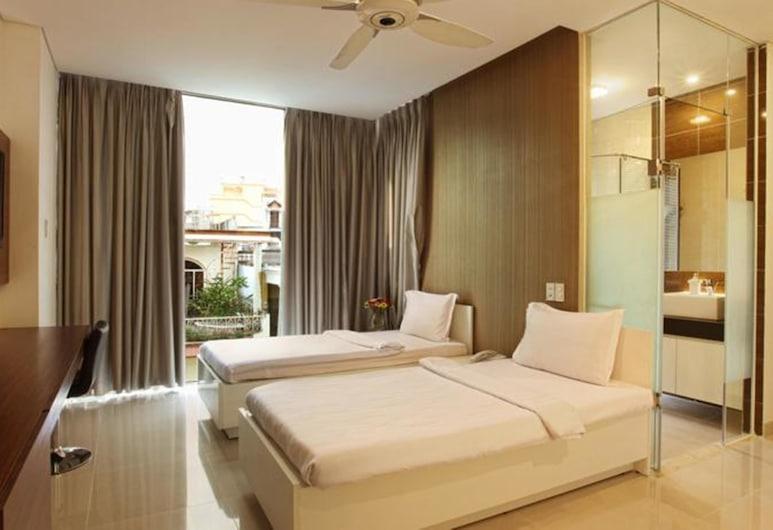Yellow House Saigon Hotel, Ho Chi Minh City, Deluxe Twin Room, Guest Room