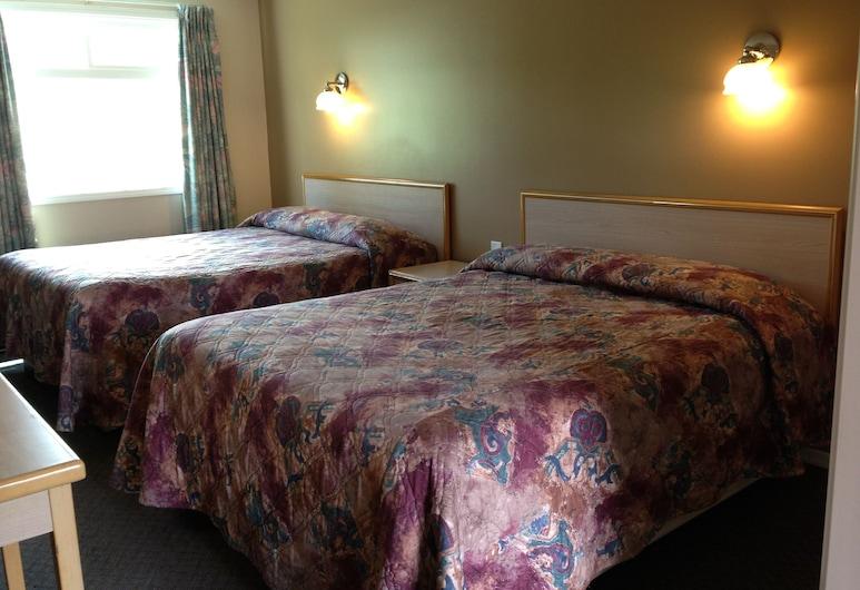 Rider's Motor Inn, Kamloops, Zimmer, 2Queen-Betten, Zimmer