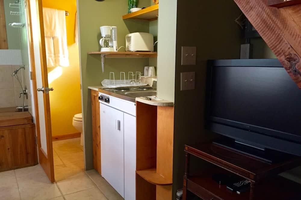 Design-træhus - 1 soveværelse - Stue