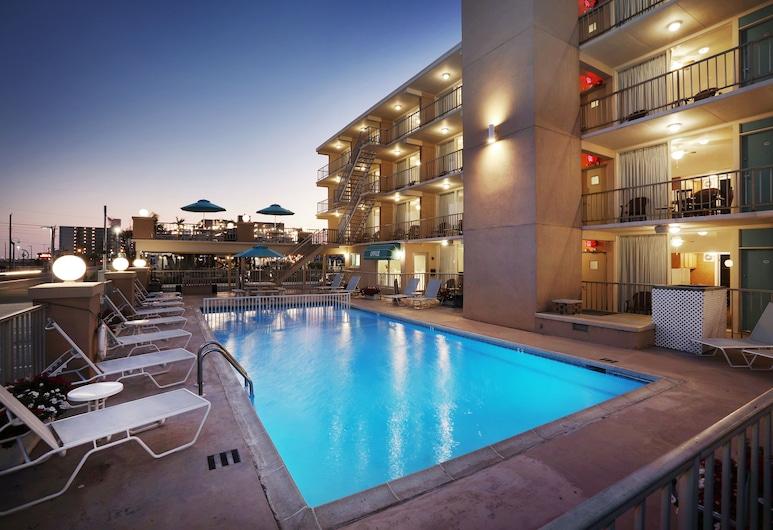 Aquarius Oceanfront Inn, Wildwood, Ulaz u hotel