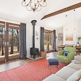 Luxury-Villa, 1King-Bett, Seeblick, Seeseite - Wohnbereich