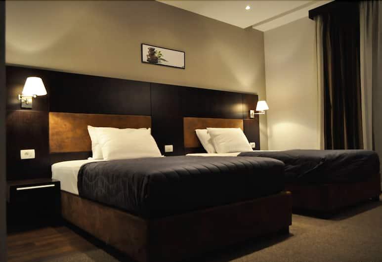 Hotel Dolce International, Skopje, Standardværelse med 2 enkeltsenge - byudsigt, Værelse