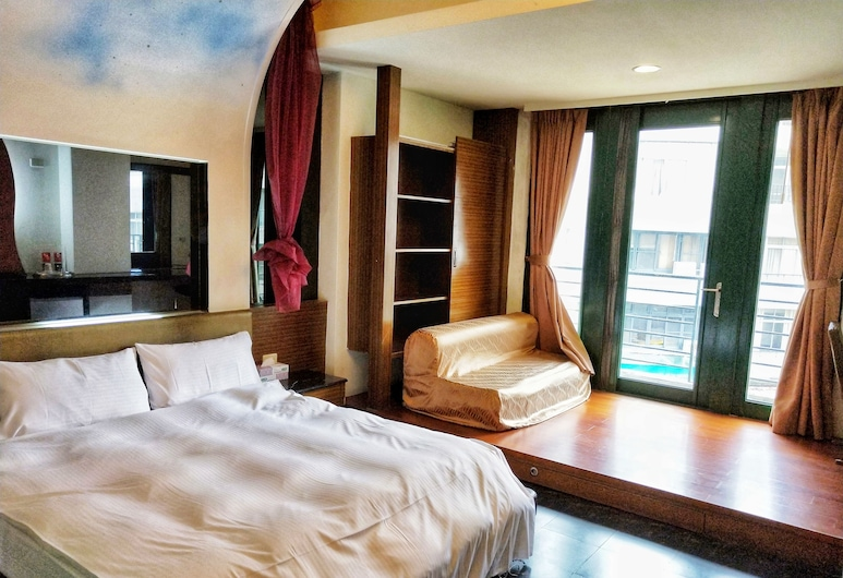 HARBOR ELITE HOTEL, Yuchi, Dvojlôžková izba typu Superior, vaňa (Do not accept Taiwan Traveler Card), Hosťovská izba