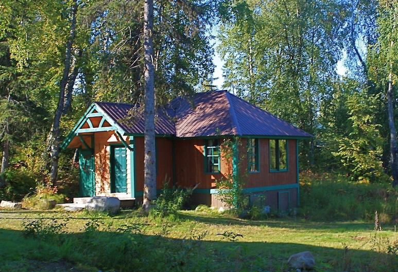 Out of the Wild Chalet, Talkeetna, Hotelgelände