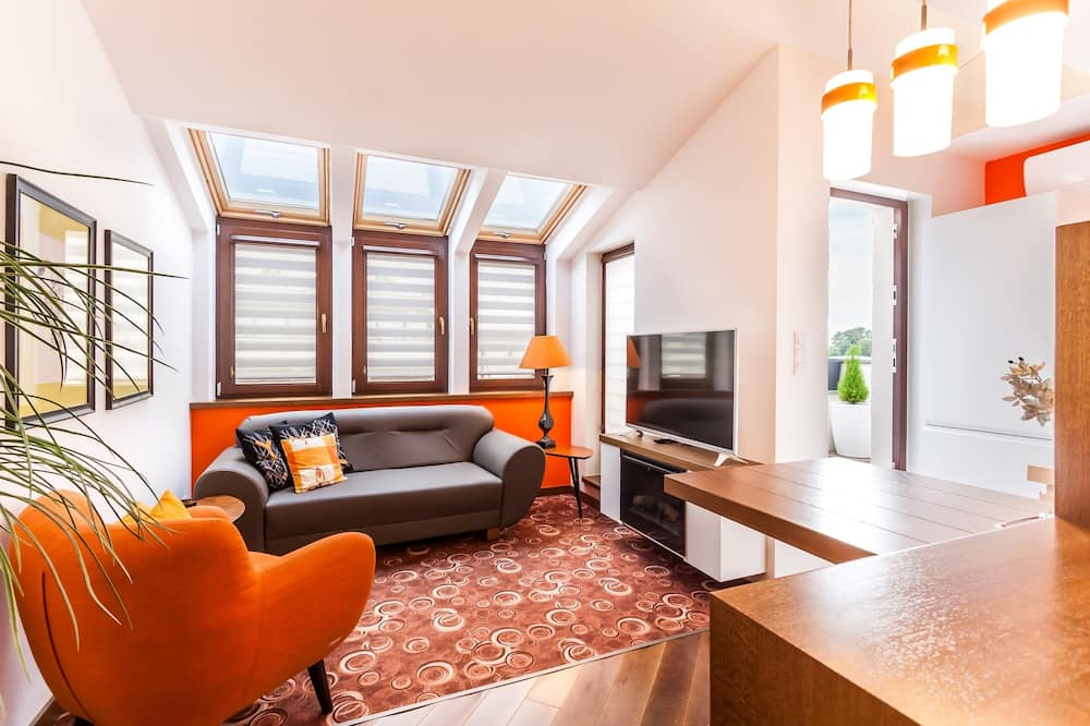 Apartment, Whirlpool (Sauna) - Wohnbereich