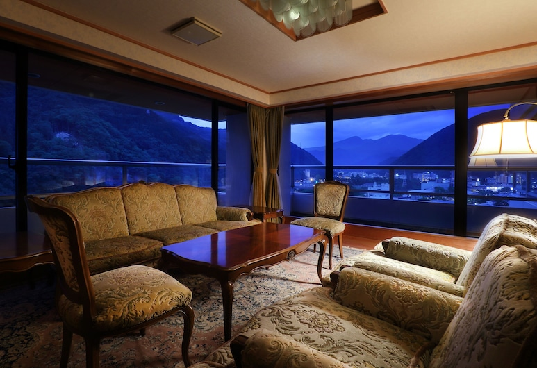Hotel Sunshine Kinugawa, Nikas, Karališkos klasės kambarys (Quadruple Use), Svečių kambarys