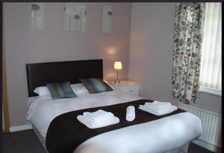 Hotel Vienna, Blackpool, ห้องดับเบิล, ห้องพัก