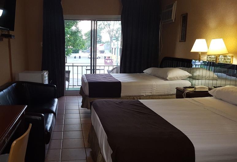 Chomedey Inn, Laval, Kamar, 2 Tempat Tidur Double, Kamar Tamu