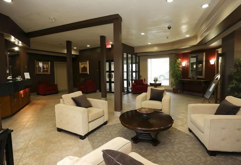 The Bridgeport Inn, Fort McMurray, Lobby Sitting Area