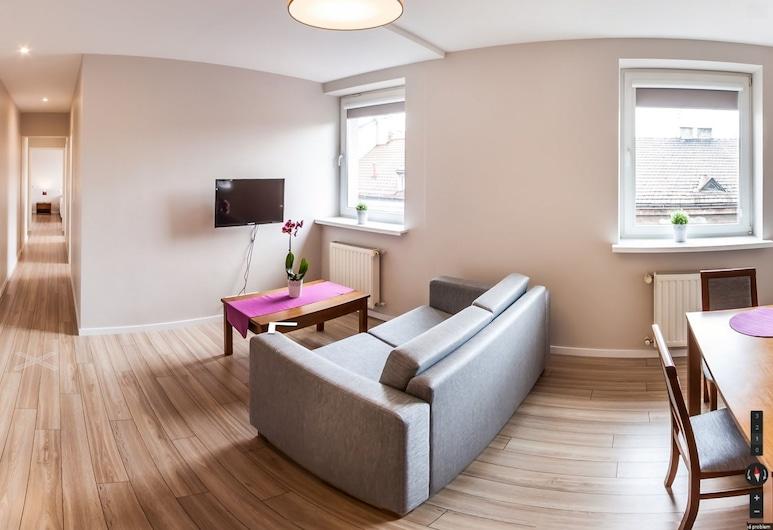 Emaus Apartments, Kraków, Lägenhet Superior - 2 sovrum - pentry, Vardagsrum