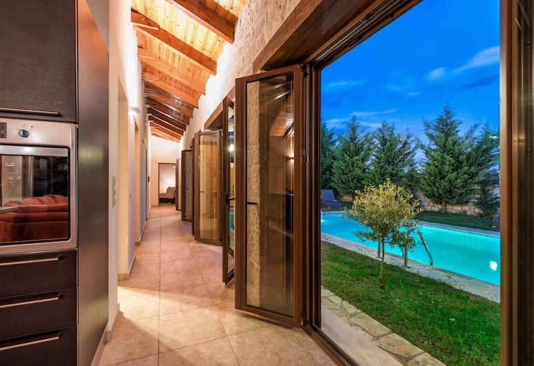 Astarte Villas - Kyveli Villa, Zakynthos, Luxury Villa, 3 Bedrooms, Private Pool, View from room