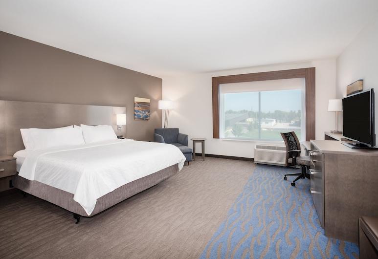 Holiday Inn Express & Suites Great Bend, Greitbenda, Standarta numurs, 1 divguļamā karaļa gulta, nesmēķētājiem (Hearing), Viesu numurs