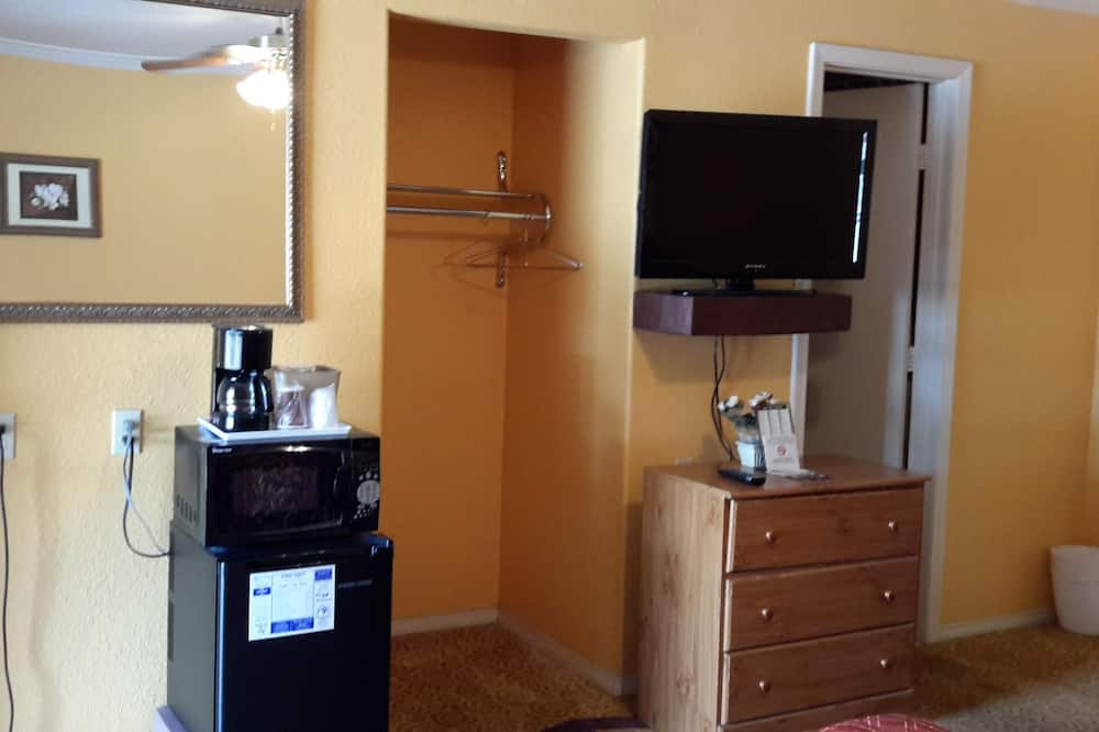 Habitación doble Deluxe, 2 camas dobles, con acceso para silla de ruedas, para no fumadores - Minirefrigerador