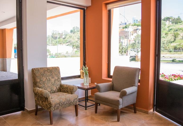 Hotel La Estacion, San Miguel de Allende, Tiền sảnh