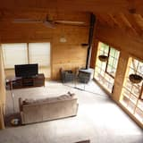 Classic-Ferienhaus, 2Schlafzimmer, Blick auf den Weinberg - Wohnbereich