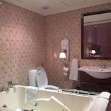 Luxury-Doppelzimmer, 1 Schlafzimmer, Stadtblick - Badezimmer