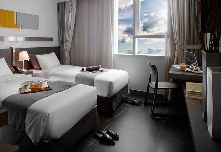 嘉逸豪庭飯店, 仁川, 豪華雙人房, 2 張單人床, 客房