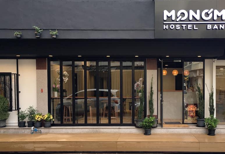 Monomer Hostel Bangkok, Bangkok, Vchod do hotelu