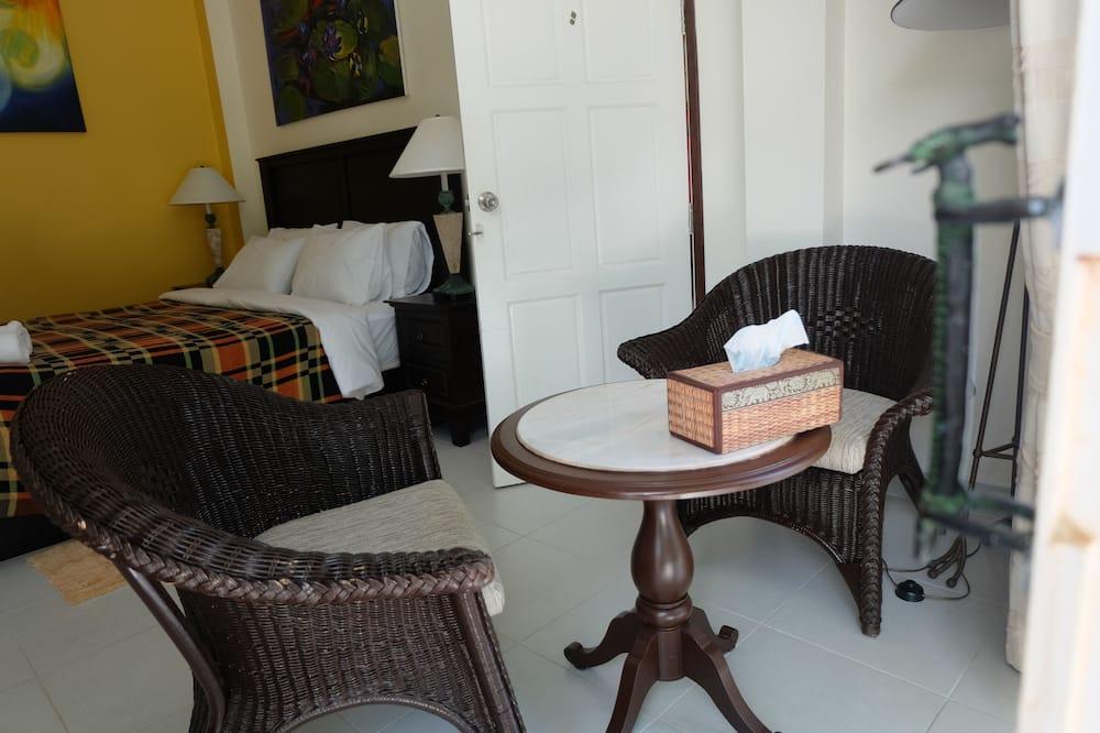 Phòng Suite dành cho gia đình, 2 phòng ngủ, Tủ lạnh & Lò vi sóng, Góc - Khu phòng khách